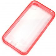 Capdase Soft Jacket iPhone 4/4S Frame (Clear Tinted Red)
