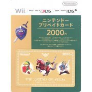Nintendo Network Card / Ticket - The Legend of Zelda Edition (2000 YEN / for Japanese network only) [retail packing] (Japan)