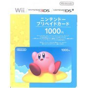 Nintendo Network Card / Ticket - Kirby Edition (1000 YEN / for Japanese network only) [retail packing] (Japan)