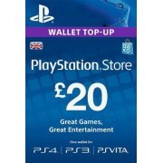 PSN Card 20 GBP | Playstation Network UK digital (UK)