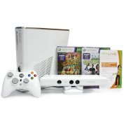 Xbox 360 Arcade Slim Console white (4GB) Kinect Bundle incl. Kinect Adventures & Kinect Sports (Asia)