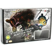 Nintendo 3DS (Monster Hunter 3G Beginner Hunters Pack Black Edition) (Japan)