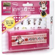 Disney Character Card Case 6 Seal Set for Nintendo 3DS (Minnie) (Japan)