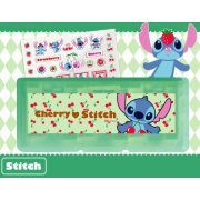 Disney Character Card Case 6 Seal Set for Nintendo 3DS (Stitch) (Japan)
