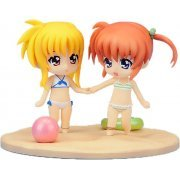 Nendoroid Petit Magical Girl Lyrical The Movie 1st: Nanoha and Fate Summer Memories (Japan)