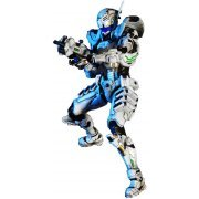 Vanquish Play Arts Kai Non Scale Pre-Painted PVC Figure: Sam Gideon (Japan)
