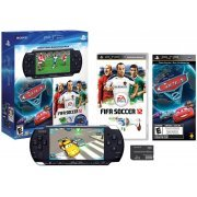 PSP 3000 Limited Edition Entertainment Pack: FIFA 2012 & Cars 2 (Black) (US)