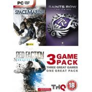 Saints Row The Third, Space Marine & Red Faction Armageddon Triple Pack (DVD-ROM) (Europe)