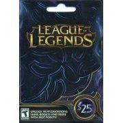 League of Legends Riot Point Card (US$ 25) (US)