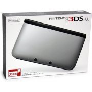 Nintendo 3DS LL (Silver x Black) (Japan)