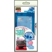 Chara Pure Hologram Seal for 3DS (Stitch) (Japan)