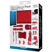 DreamGear 13 in 1 Gamer Pack for 3DS - Red (US)