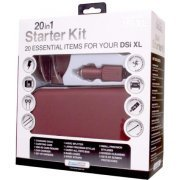 DreamGear 20 in 1 Starter Kit for DSi XL - Burgundy (US)
