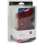DreamGear Radium Wireless Controller with Dual Rumble Motors (Metallic Red) (US)