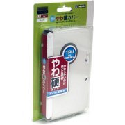 TPU Yawakata Cover for 3DS LL (clear) (Japan)