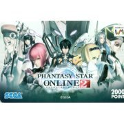 Web Money 2000 - Phantasy Star Online 2 Design Point Card (Japan)