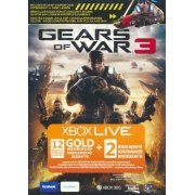 Xbox Live 12-Month +2 Gold Card (Gears of War 3) (Europe)