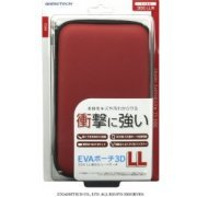 EVA Pouch for 3DS LL (Red) (Japan)