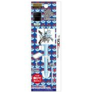 Expand! Mascot Touch Pen Plus for 3DS LL (Black Kyurem Over Drive) (Japan)