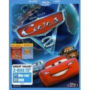 Cars 2 [Blu-ray+DVD] (US)