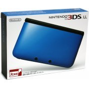 Nintendo 3DS LL (Blue x Black) (Japan)