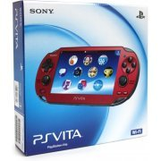 PSVita PlayStation Vita - Wi-Fi Model (Cosmic Red) (Japan)