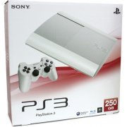 PlayStation3 New Slim Console (250GB Classic White Model) - 220V (Asia)