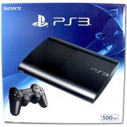 PlayStation3 New Slim Console (500GB Charcoal Black Model) - 220V (Asia)