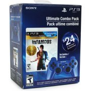 Ultimate Combo Pack: inFamous Collection + Metallic Blue DualShock 3 (US)