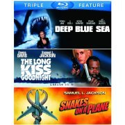 Deep Blue Sea / The Long Kiss Goodnight / Snakes on a Plane (US)