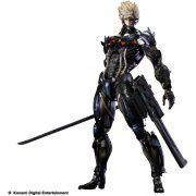 Metal Gear Solid Rising Revengeance Play Arts Kai Non Scale Pre-Painted PVC Figure: Raiden (Japan)