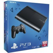 PlayStation3 New Slim Console (500GB Charcoal Black Model) (Europe)