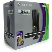 Xbox 360 Slim Console (250GB) Kinect Bundle incl. Kinect Adventures (Asia)