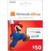 Nintendo eShop 50 USD Card US (US)