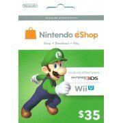 Nintendo eShop 35 USD Card US (US)