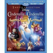 Cinderella 2: Dreams Come True / Cinderella 3: Twist in Time [Bluray + DVD Combo] (US)