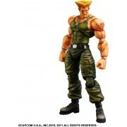 Super Street Fighter IV Play Arts Kai Arcade Edition Vol.3 Non Scale Pre-Painted PVC Figure: Guile (Japan)