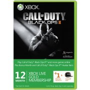 Xbox Live 12-Month +1 Gold Membership Card (Call of Duty: Black Ops II Edition) (Europe)