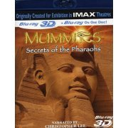 Mummies: Secret of the Pharaohs 3D [Blu-ray 3D + Blu-ray] (US)