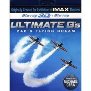 Ultimate G's: Zac's Flying Dream 3D [Blu-ray 3D + Blu-ray] (US)