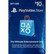 Playstation Network Card 10 USD | USA Account (US)