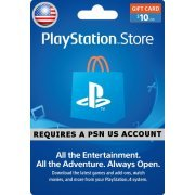 PSN Card 10 USD | Playstation Network US (US)