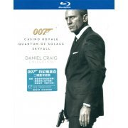 James Bond: Daniel Craig Collection [3Blu-Ray] (Hong Kong)