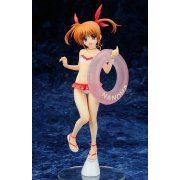 Magical Girl Lyrical Nanoha The Movie 1st 1/7 Scale Pre-Painted  PVC Figure: Takamachi Nanoha Swim Wear Ver. (Japan)