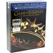Game of Thrones: The Complete Second Season [Blu-ray + DVD + Digital Copy] (US)