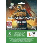 Xbox Live 3-Month +1 Gold Membership (Gears of War: Judgment) (Asia)