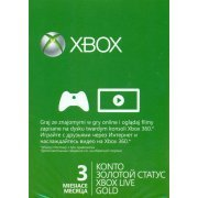Xbox Live Gold 3-Month Membership (Europe)