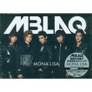 Mona Lisa - Black [CD+DVD+Mini Photobook Limited Edition Type A] (Japan)