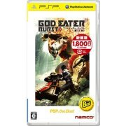 God Eater Burst (PSP the Best) [New Price Version] (Japan)