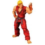 Super Street Fighter IV Play Arts Kai Arcade Edition Vol.4 Non Scale Pre-Painted PVC Figure: Ken (Japan)